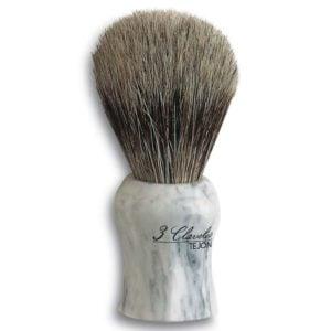 3C Pędzel do golenia włosie borsuka