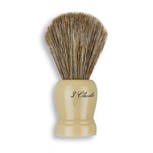 3C Pędzel do golenia z nat. włosiem