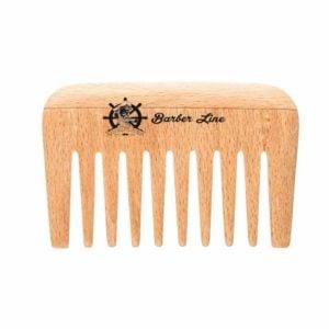 Grzebień drewniany Barber Style 9cm