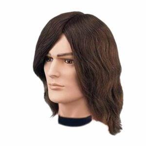 Fryzjerska główka treningowa męska bez brody