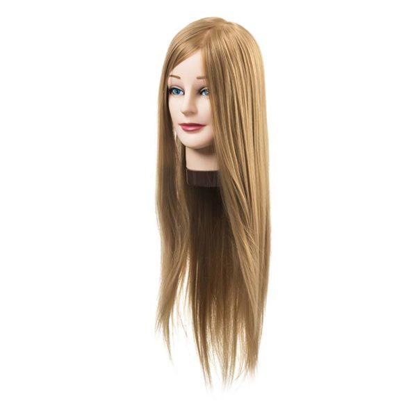 Fryzjerska główka treningowa włosy blond 55-60cm