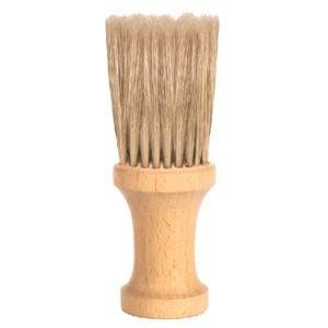 Karkówka drewniana okrągła naturalne włosie