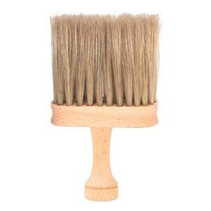Karkówka drewniana płaska naturalne włosie