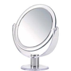 Lusterko kosmetyczne dwustronne okrągłe
