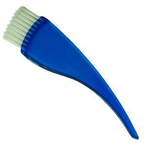 Pędzel do farb ergonomiczny niebieski