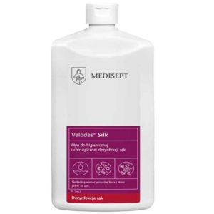 Medisept Velodes Silk 500ml alkoholowy preparat do dezynfekcji rąk